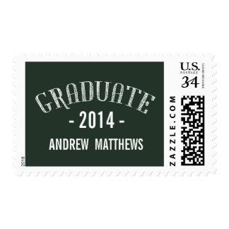 Retro | 2014 Graduation Postage Stamp