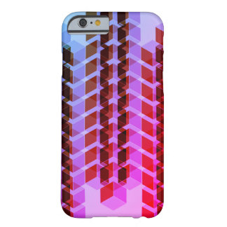 Retro 3D Blocks Barely There iPhone 6 Case