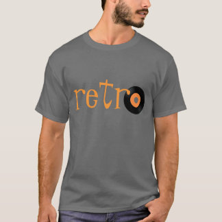 Retro 45 Record T-shirt - totally cool