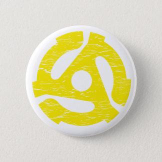 Retro 45 RPM Pinback Button