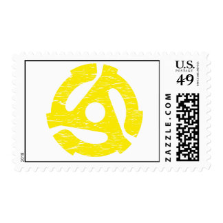 Retro 45 RPM Postage