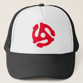 RETRO 45 VINYL SPINDLE Red Hat