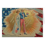 Retro 4th of July Card