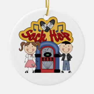 Retro 50 s Christmas Ornament