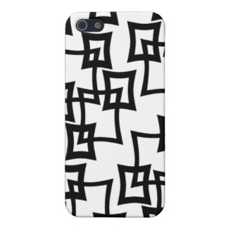 retro 50s 60s 70s pattern iphone 4 cover