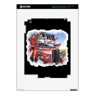 Retro 50s drive in decals for iPad 3