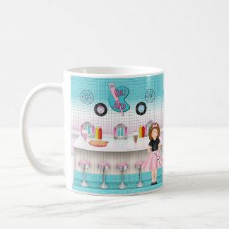 Retro 50's Malt Shop Coffee Mug