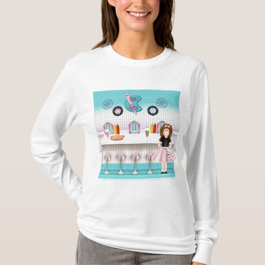 Retro 50's Malt Shop T-Shirt