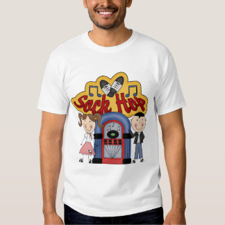 Retro 50's Sock Hop T-shirt