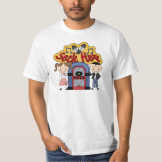 Retro 50's Sock Hop Tee Shirt