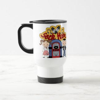 Retro 50's Sock Hop Travel Mug