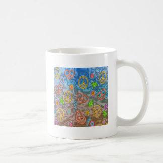 Retro 60s Peaceful Ocean Life Apparel Gifts Coffee Mug