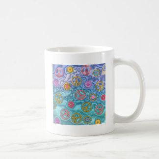 Retro 60s Peaceful Ocean Waves Apparel Gifts Coffee Mug
