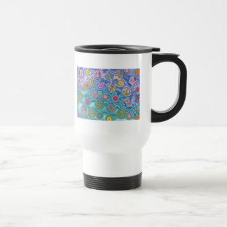 Retro 60s Peaceful Ocean Waves Apparel Gifts Travel Mug