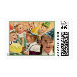 Retro 65th Birthday Party 1949 Childhood Memories Stamps