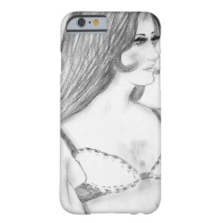 Retro 70s Girl in Bikini Top Barely There iPhone 6 Case