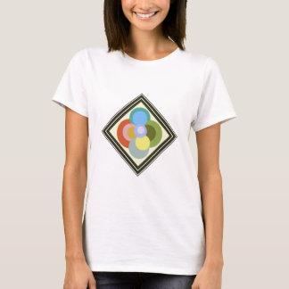 Retro 70s Groovy Dots Pattern T-Shirt