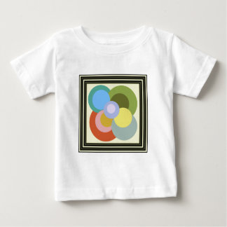 Retro 70s Groovy Dots Pattern T-shirt