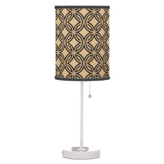 Retro 70's Pattern 4 Table Lamp only, see notes