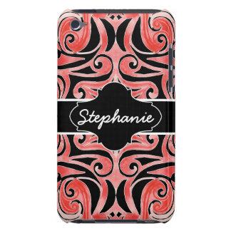 Retro 70s Swirl Chalkboard Modern Tribal Design iPod Touch Case-Mate Case