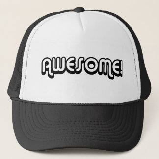 Retro 80s   Awesome! 80's Vintage Trucker Hat
