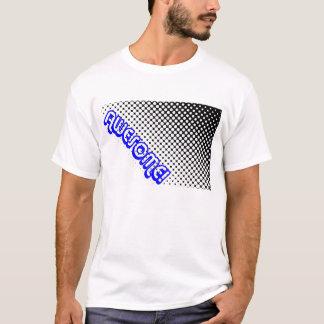 Retro 80s Awesome! Black White Dots Geometric T-Shirt