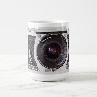 Retro 80s Camera Effect On Tea or Coffee Mug