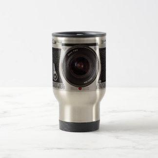 Retro 80s Camera Effect Travel Mug