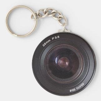 Retro 80s Camera Lens On A Keyring