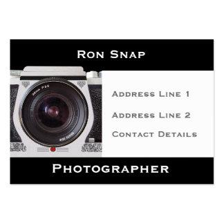 Retro 80s Camera Photographers Business Card