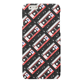 Retro 80's cassette tape glossy iPhone 6 case
