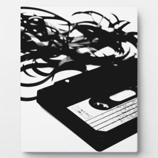 Retro 80's Design - Audio Cassette Tape Plaque