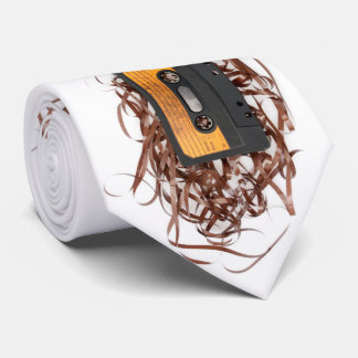 Retro 80's Design - Audio Cassette Tape Tie