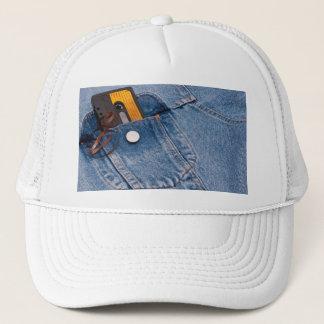 Retro 80's Design - Audio Cassette Tape Trucker Hat