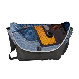 Retro 80's Design Messenger Bag