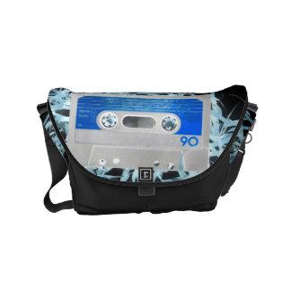 Retro 80's Design Small Messenger Bag