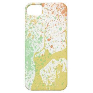 Retro 80s pastel paint splatter print cool urban iPhone SE/5/5s case