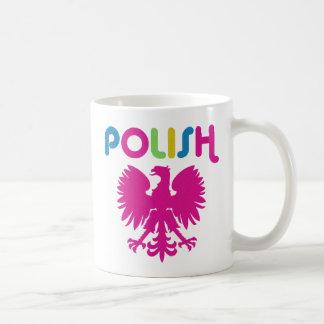 Retro 80's Polish Eagle Mug