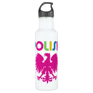 Retro 80s Polish Liberty Drink Water  Bottle