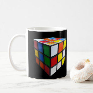 Retro 80's Puzzle Cube Coffee Mug