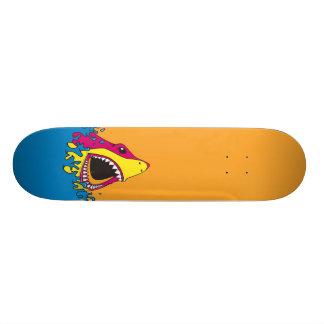 Retro 80's Shark Week Skateboard Deck