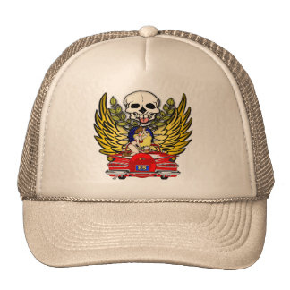 Retro 85th Birthday Gifts Trucker Hat