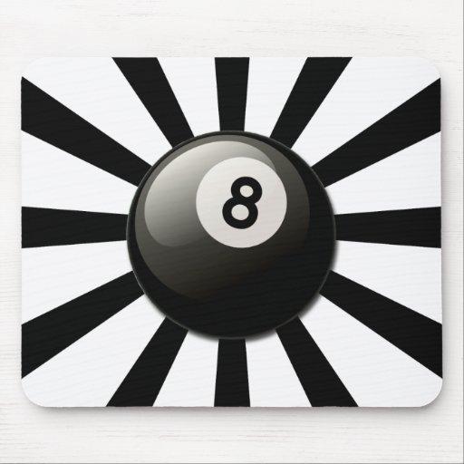 RETRO 8 BALL MOUSE PAD