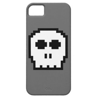 Retro 8-bit Skull iPhone 5 Covers