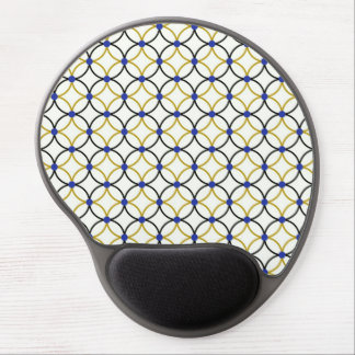 Retro Abstract Art Design Gel Mouse Pad