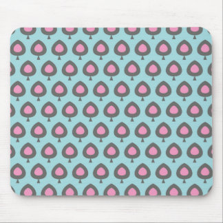 Retro Abstract Art Design Mouse Pad