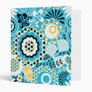 Retro Abstract Art Pattern - Gorgeous! Vinyl Binders