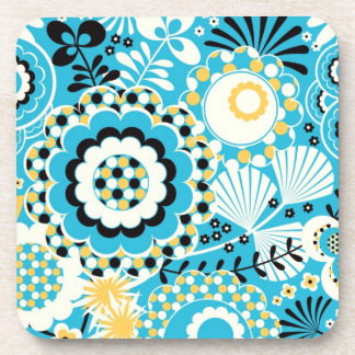 Retro Abstract Art Pattern - Gorgeous! Drink Coasters