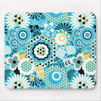 Retro Abstract Art Pattern - Gorgeous! Mouse Pads