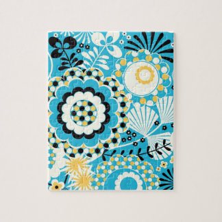 Retro Abstract Art Pattern - Gorgeous! Puzzles